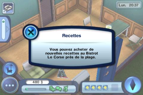 Sims 3 ipod touch/Iphone screenshot capture d'ecran