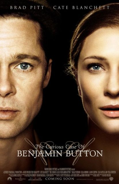 The curious case of benjamin button affiche