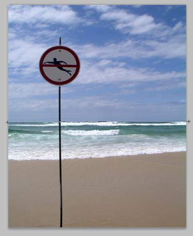 Outil regle sur image